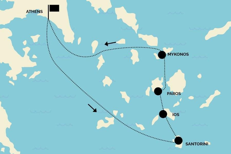 Starting Your Greek Island Hopping Tour