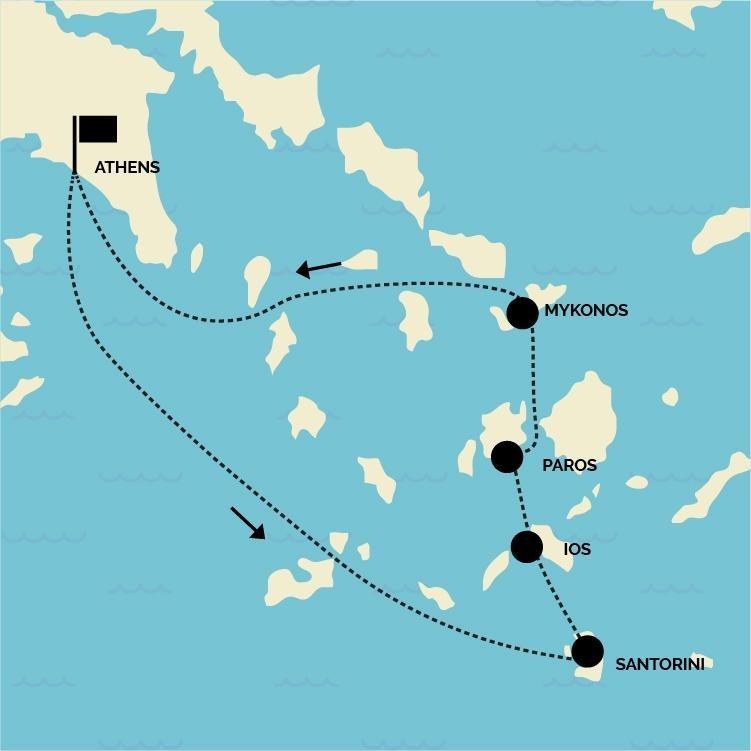 11 Day Greek Island Hopping